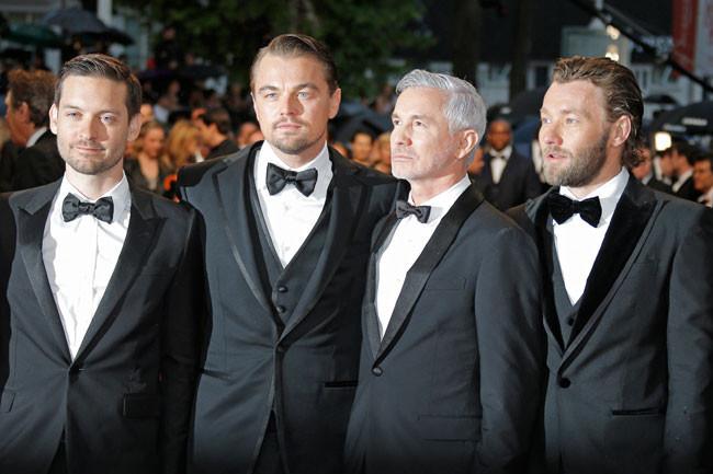 Tobey Maguire, Leonardo DiCaprio, Baz Luhrmann y Joel Edgerton