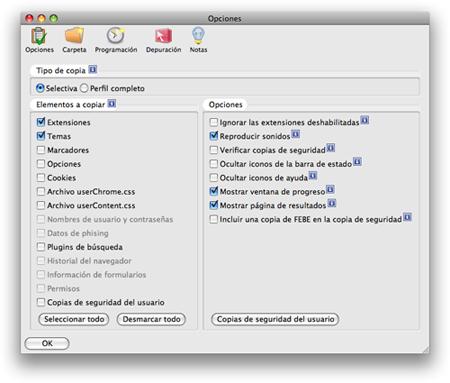 Sincroniza tu Firefox en varias máquinas con FEBE