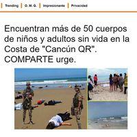 México sigue teniendo problemas con las fake news: algunas de estas fotos son reales pero no son de Cancún