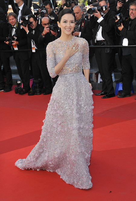 Zhang Ziyi Festival Cannes 2013 Elie Saab