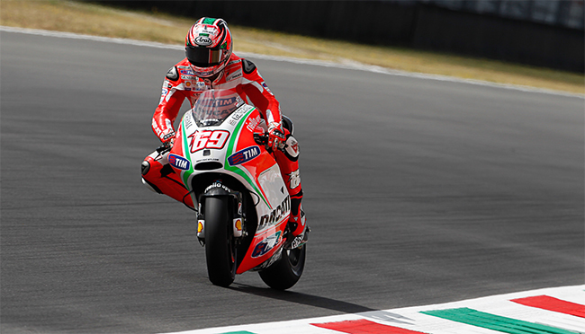 Nicky Hayden Mugello GP Italia