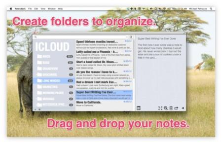 Notesdeck, todas tus notas de Dropbox, iCloud, Evernote y Simplenote en una misma aplicación