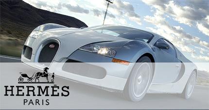 Hermès y Bugatti presentaran su propio Veyron