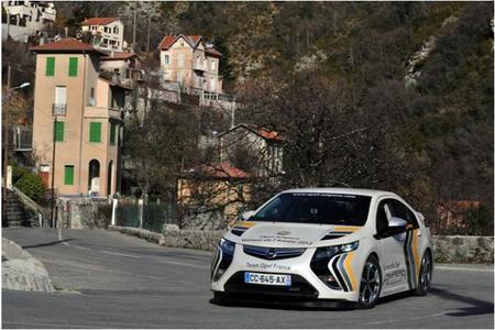 Resultados del XIII Rallye Monte-Carlo des Énergies Nouvelles