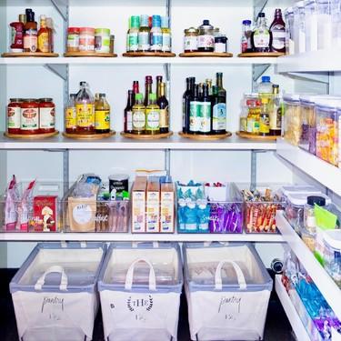 Instagram lleva el orden a otro nivel y pone de moda las despensas y frigoríficos impolutos