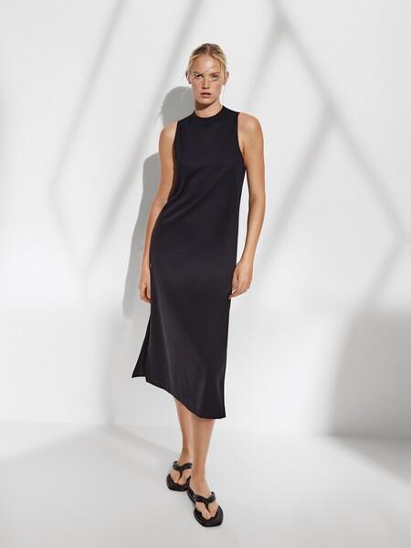 Vestido Negro Amelia Bono