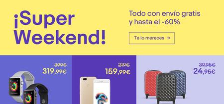 Regresa el Super Weekend a eBay: las 16 mejores ofertas