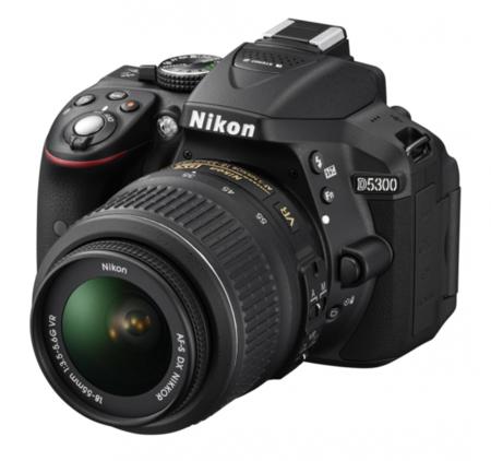 Nikon D5300 frontal