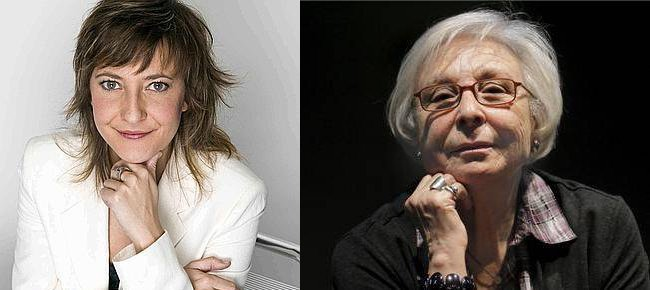 Eva Hache y Josfina Molina