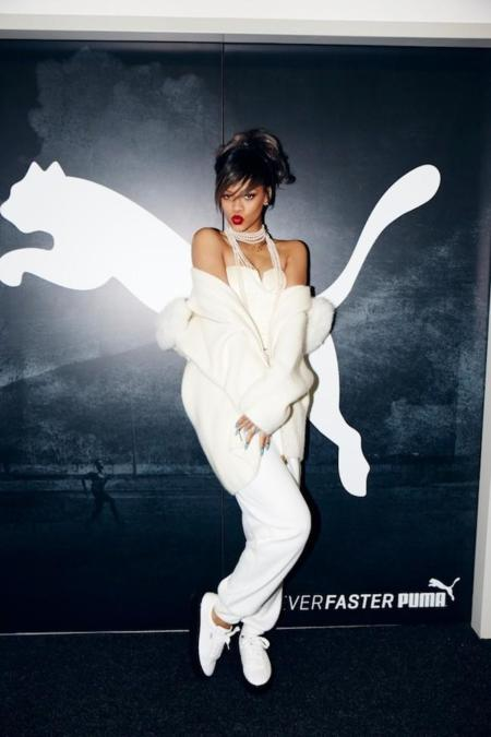 Rihanna Partners With Puma 16th December 2014