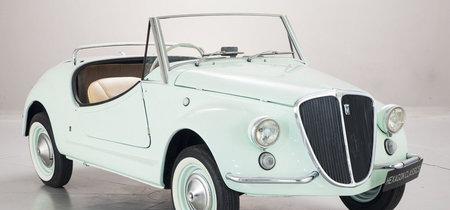 Parece de juguete pero cuesta una pasta gansa: Fiat 500 Gamine by Vignale, a subasta