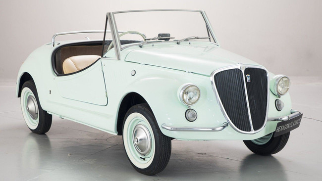 Fiat 500 Gamine By Vignale, a subasta: parece un juguetito pero cuesta una pasta gansa