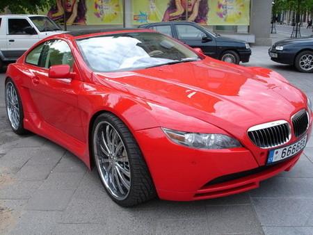 El BMW Serie 6 más exagerado del mundo
