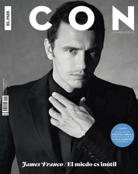 Todo un James Franco en portada para estrenar revista