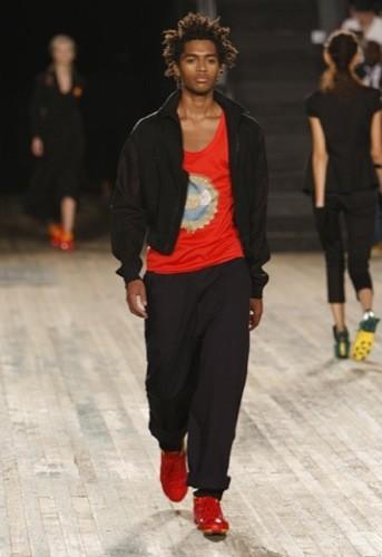 Y-3, Primavera-Verano 2010 en la Semana de la Moda de Nueva York