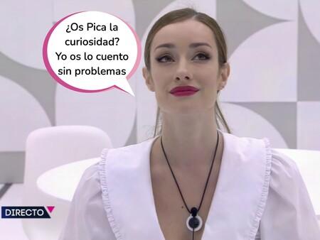 Secret Story: Adara entra en 'La casa de los secretos' y desvela el contenido del vídeo de Tom Brusse que Sandra Pica iba enseñando en las reuniones de Telecinco