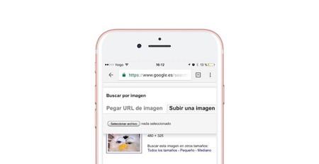 Cómo hacer búsqueda inversa de imágenes en Google desde el móvil