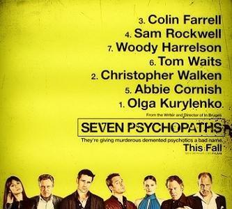 'Seven Psychopaths', tráiler y cartel