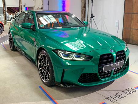 BMW M3 2021 frontal