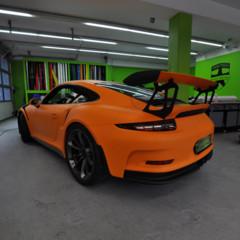 Foto 3 de 12 de la galería porsche-911-gt3-rs-naranja-mate en Motorpasión