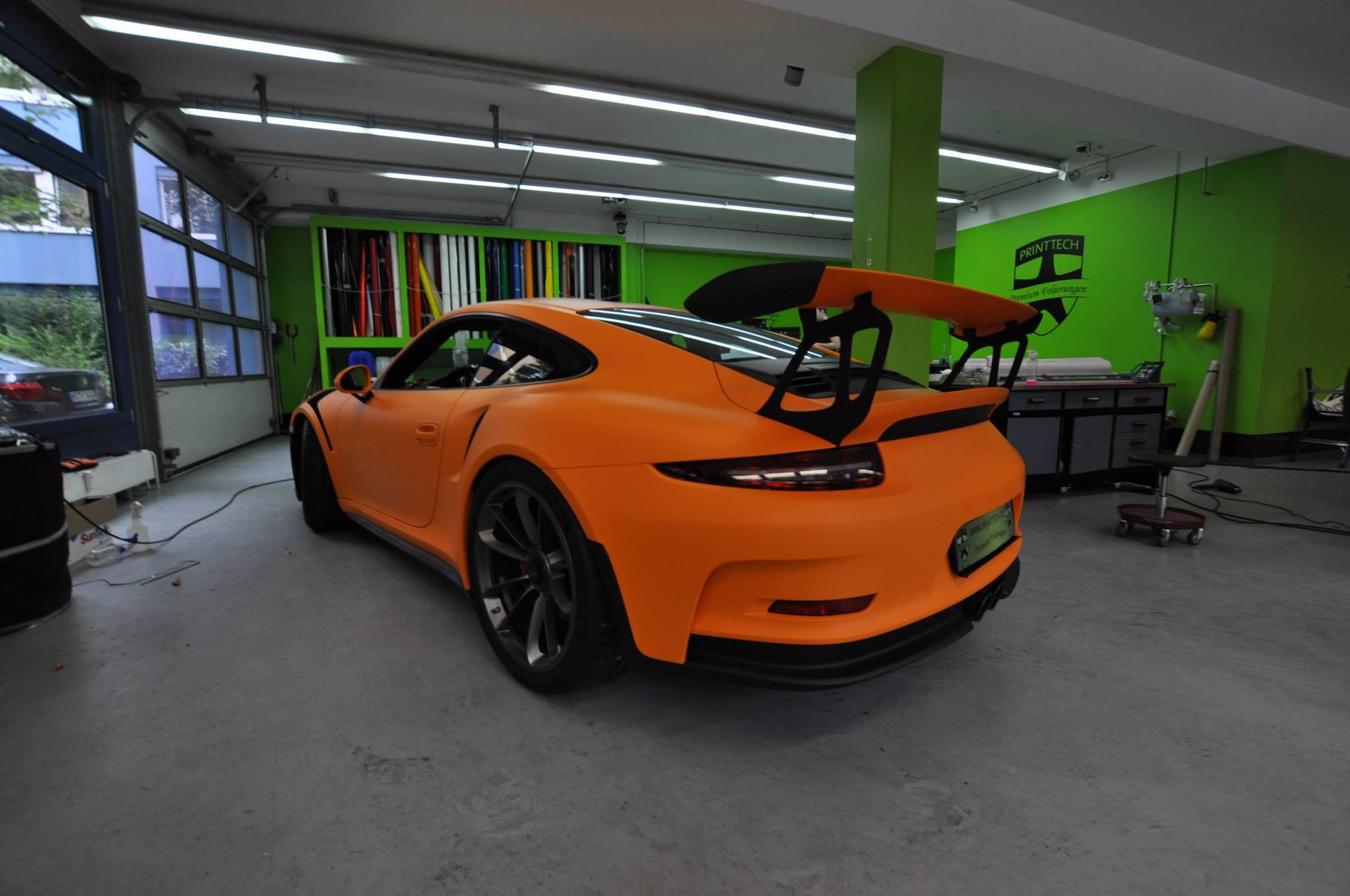 Foto de Porsche 911 GT3 RS naranja mate (3/12)