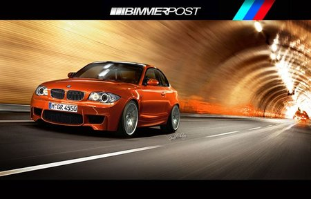 BMW Serie 1 M Coupé, recreación casi realista