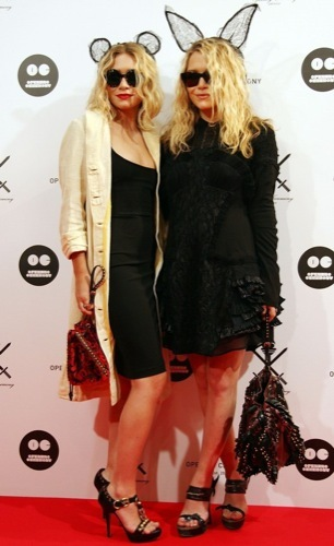 El estilo grunge por Mary-Kate y Ashley Olsen, tendencia 2009 III