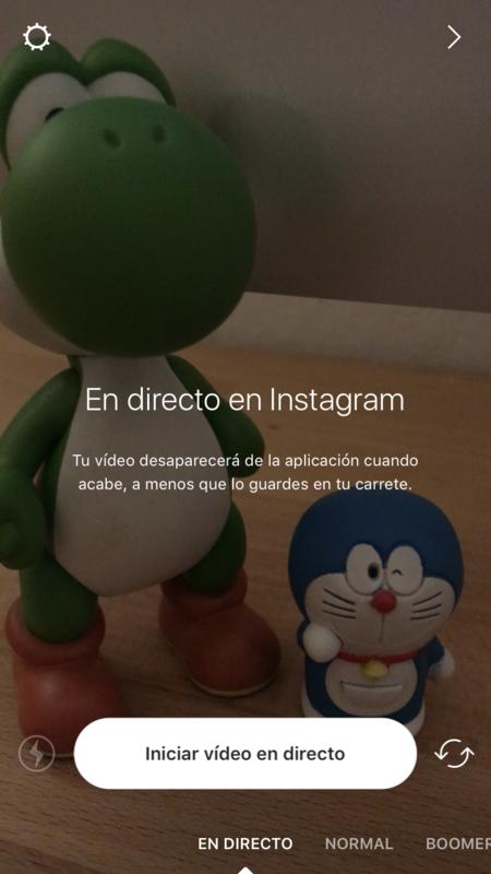Instagram Iniciar Live