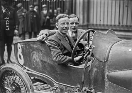 Clive Gallop en el Gran Premio de Francia de 1922