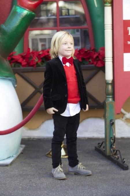 ¿Cómo vestimos a nuestros peques en Nochevieja? Tori Spelling (sorprendentemente), nos da la clave