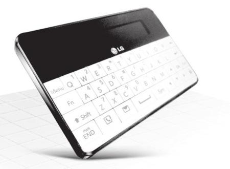 LG LBA-C300, un teclado externo para el móvil