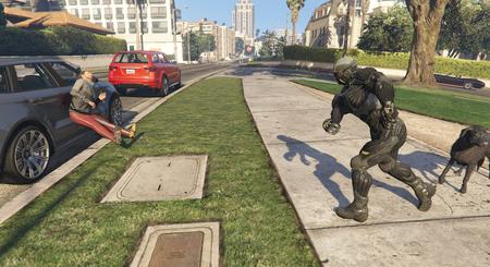 Este nuevo mod para GTA V nos deja equiparnos con el Nanosuit de Crysis y tener habilidades sobrehumanas