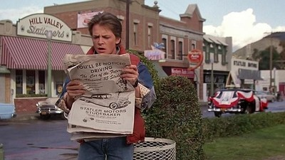 Visita en Londres el pueblo donde transcurre 'Back to the Future': Hill Valley