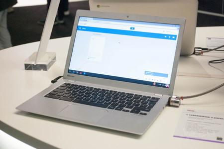 Toshiba Chromebook 2, toma de contacto
