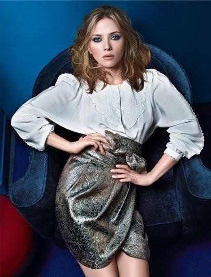 Nueva imagen de Scarlett Johansson para Mango Otoño-Invierno 2010/2011