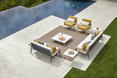 Fusión de artesanía y diseño en lo nuevo de Point, en mobiliario de exterior, para el verano de 2021