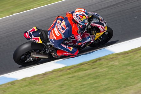 Nicky Hayden Test Phillip Island 2017