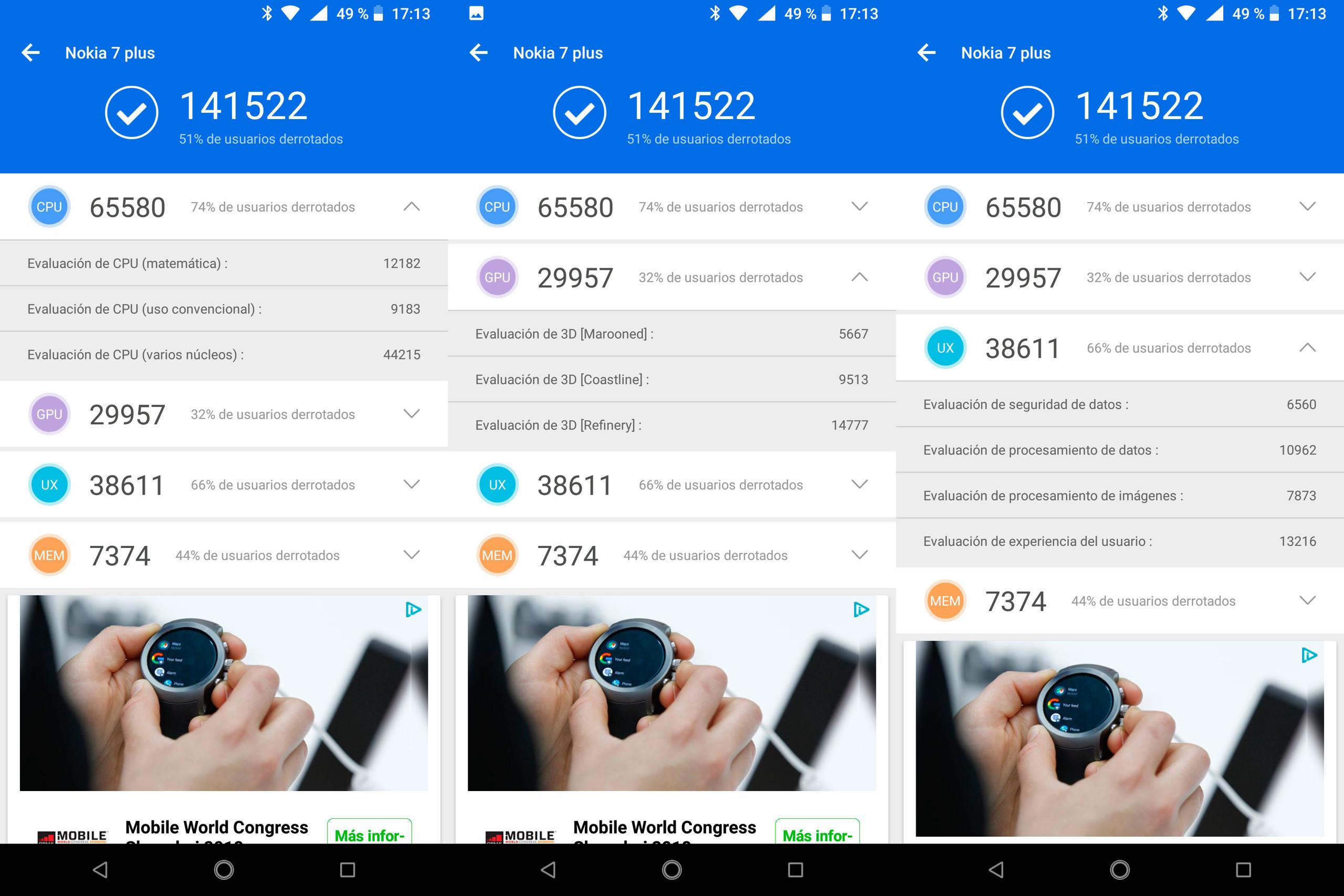 Foto de Nokia 7 plus, benchmarks (1/5)