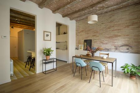 Puertas abiertas techos abovedados y vigas de madera en for Case ristrutturate interni