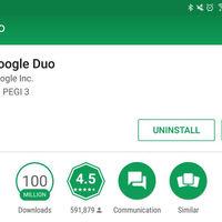 Google Duo supera los 100 millones de descargas, diez veces más que Allo