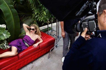 Kate Moss para Vogue Eyewear: imágenes del making of