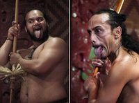Haka, una danza de guerra maorí