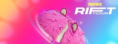 Dónde están los carteles del Rift Tour de Ariana Grande en el mapa de Fortnite Temporada 7