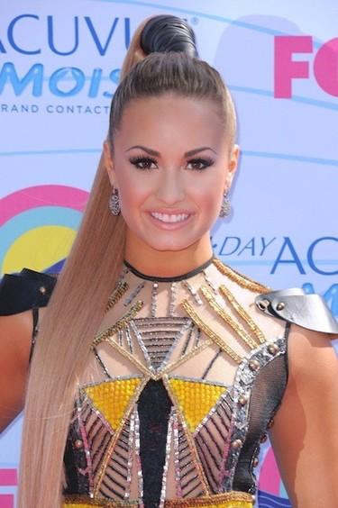 Demi Lovato y Justin Bieber, duelo de titanes pero sin pelea de barro