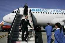 Air Asturias: un viaje muy corto
