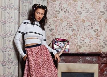 Karl Lagerfeld apuesta por Bella Hadid para la nueva campaña de Fendi, y tenemos las primeras fotos