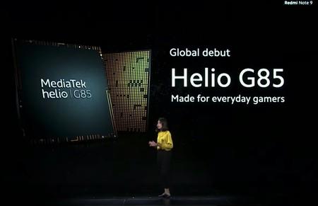 Así es el procesador MediaTek Helio G85 al mando del nuevo Xiaomi Redmi Note 9