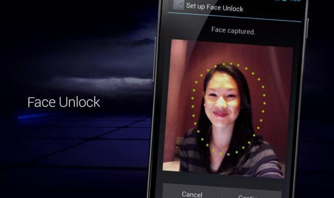 Desbloqueo facial en Android