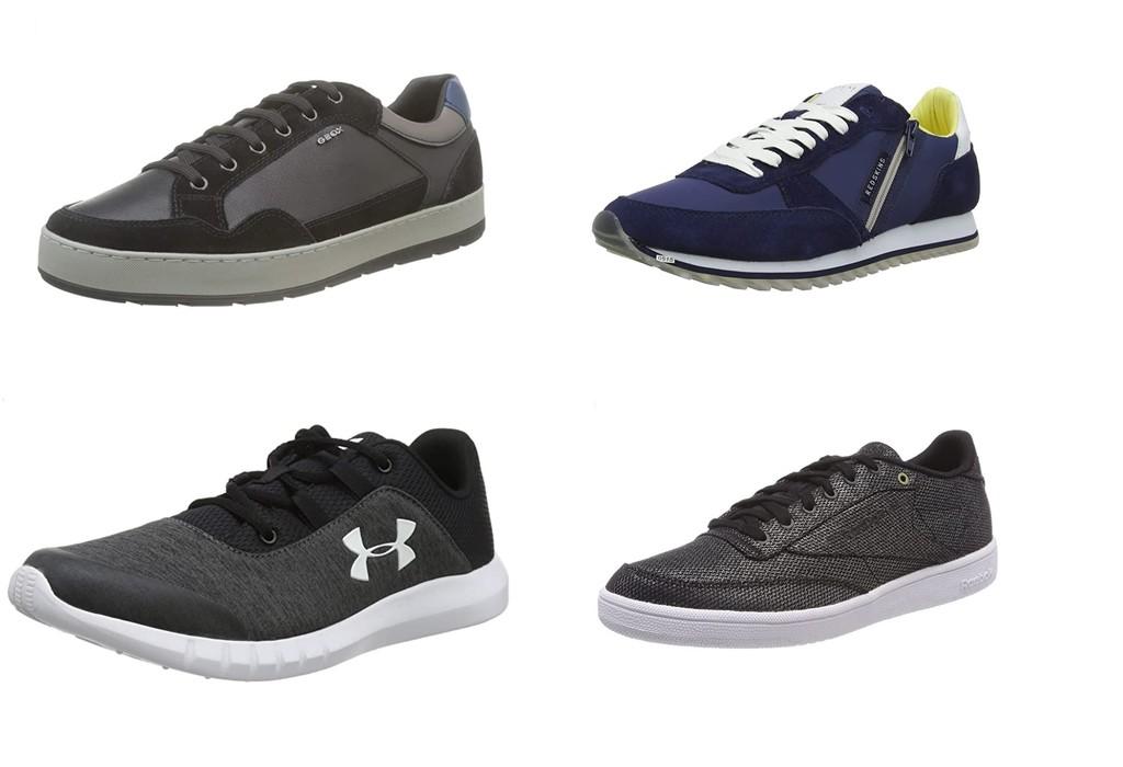 Chollos en tallas sueltas de zapatillas Reebok, Redskins, Geox o Under Armour por menos de 30 euros en Amazon