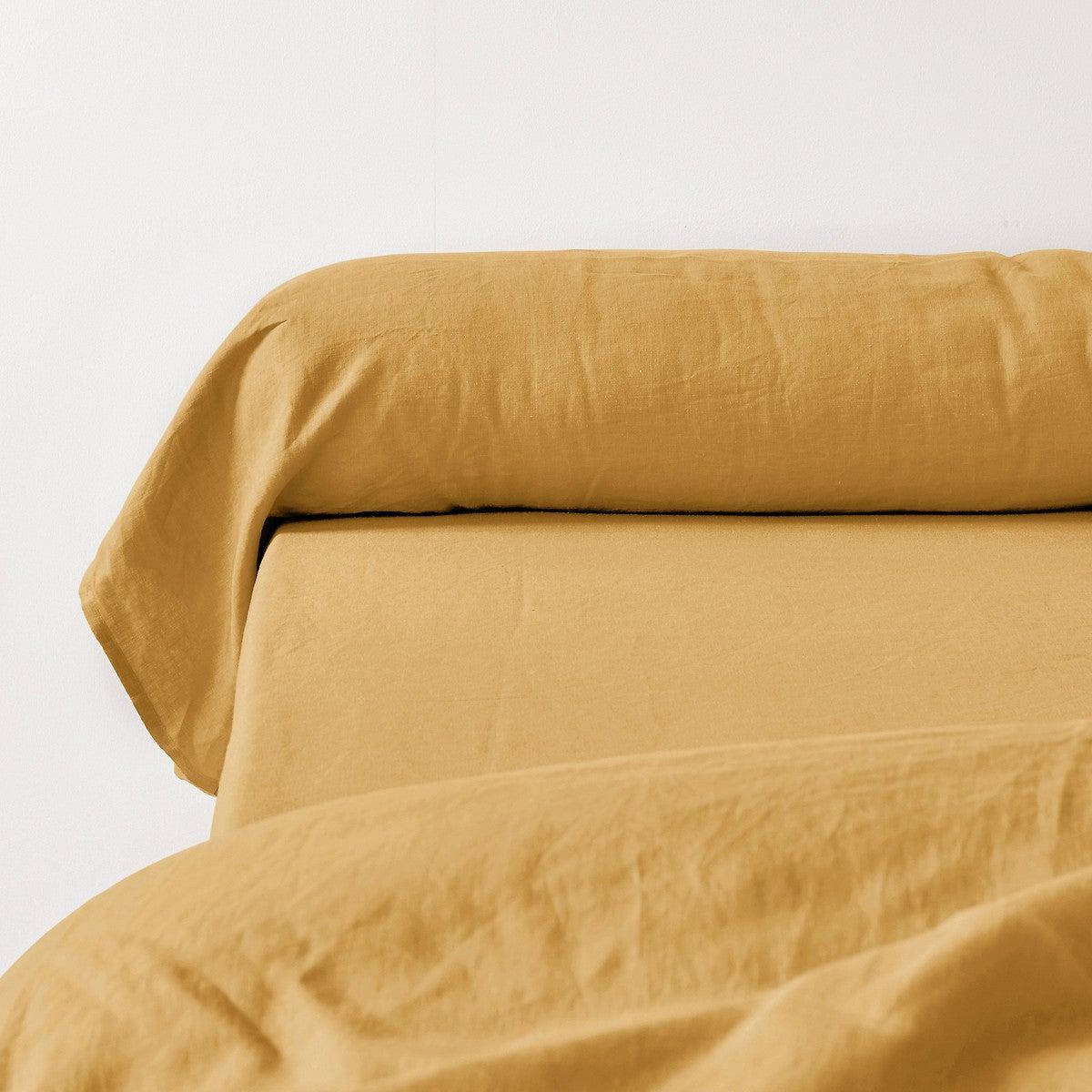 Funda de almohada de lino lavado, Linot
